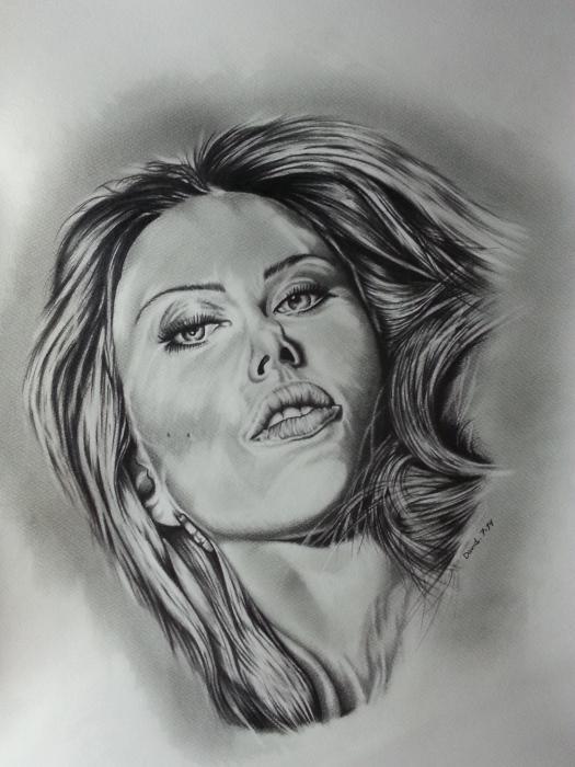 Scarlett Johansson by Callahan